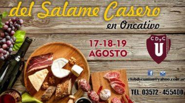 Un clásico cordobés: se acerca la 45° edición de la Fiesta Nacional del Salame en Oncativo