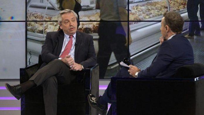 """Alberto Fernández se cruzó con Majul: """"¿Podrá hacer el esfuerzo de dejarme contestar, Luis?"""""""