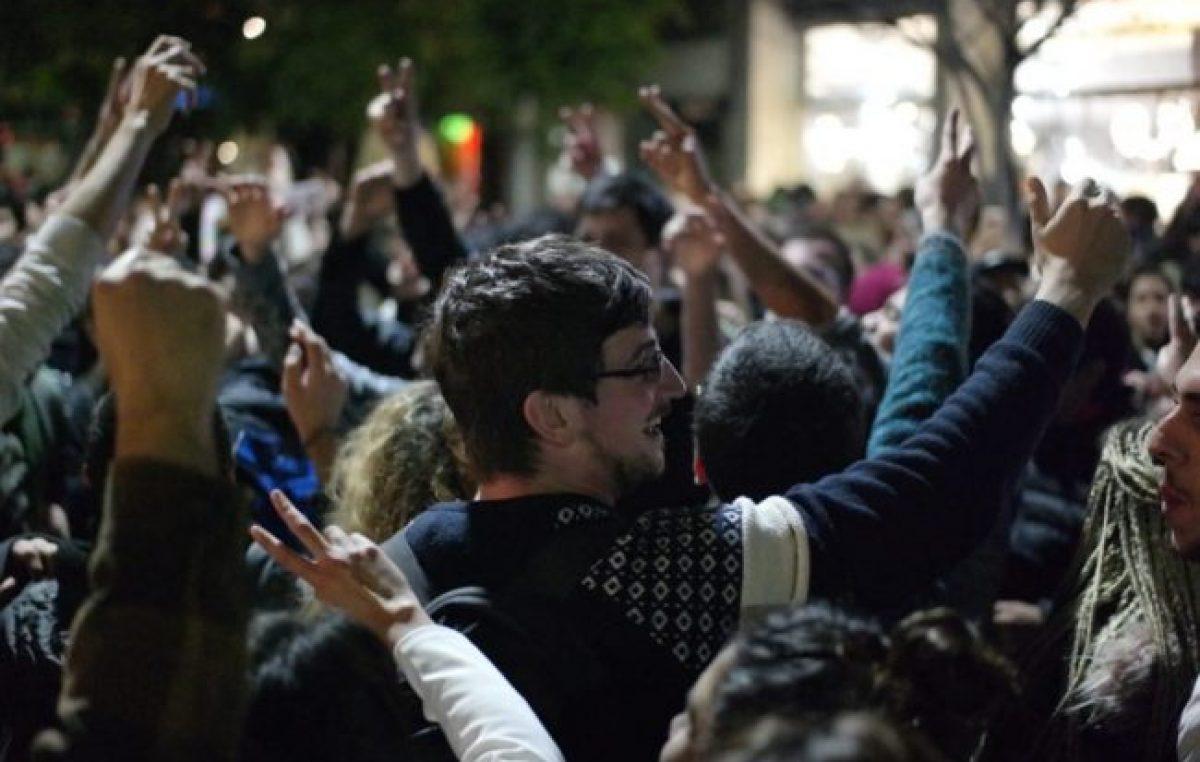 Alberto Fernández tuvo su propio «peronazo» en el departamento Rosario