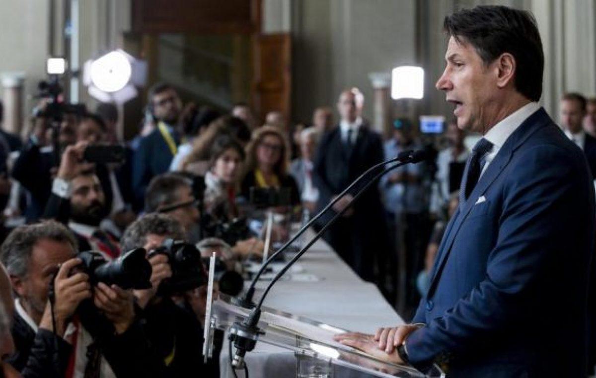 Conte avanza hacia un nuevo gobierno en Italia