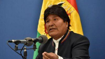 Evo Morales suspende la campaña por los incendios forestales