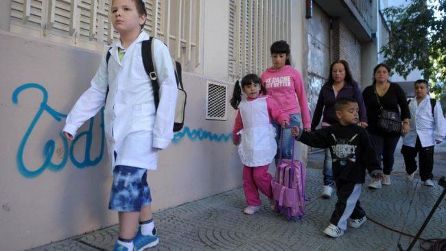 Los juegos del hambre de las escuelas porteñas