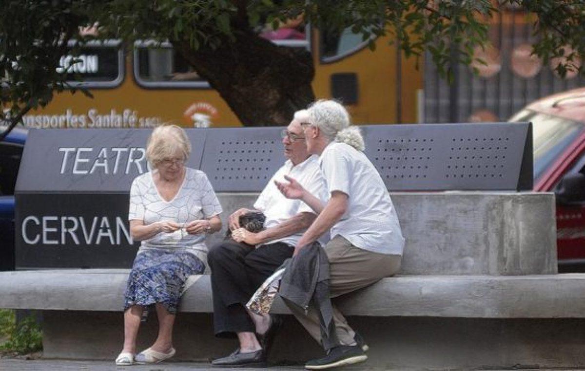 Las jubilaciones siguen corriendo de atrás