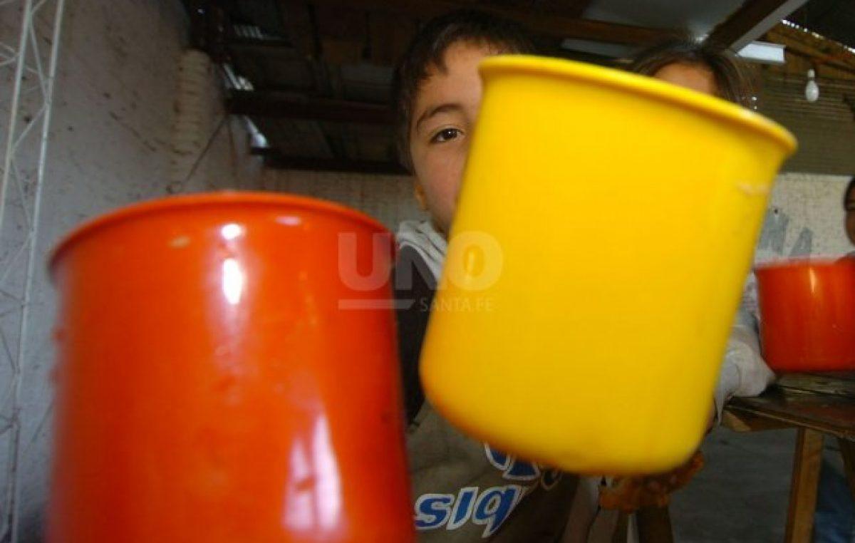 Preocupación en varios comedores solidarios de Santa Fe: no les alcanza para la leche