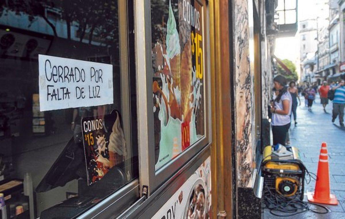 Rosario: Comerciantes en alerta por las intimaciones de cortes de servicio eléctrico