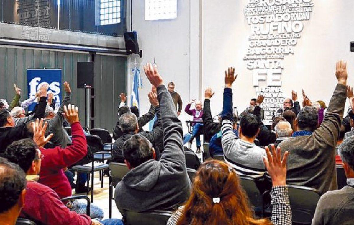 Municipales santafesinos en alerta convocan al «paro activo» donde surjan conflictos