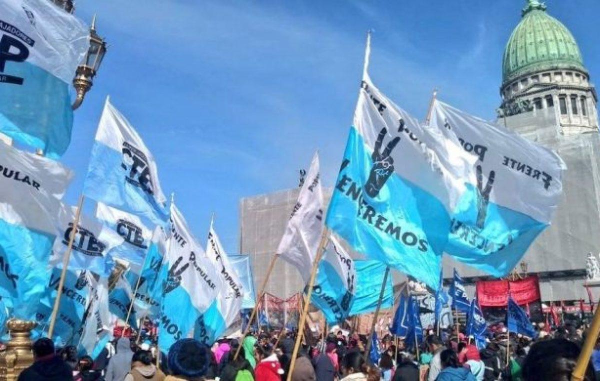 Emergencia Alimentaria: organizaciones sociales decidieron acampar en el microcentro porteño