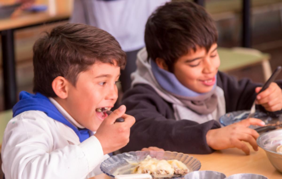 Por día, se entregan al menos 250 mil raciones en comedores escolares y comunitarios de Santa Fe