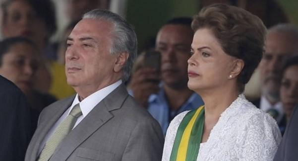 """Temer dice que destitución de Rousseff fue """"golpe de Estado"""""""