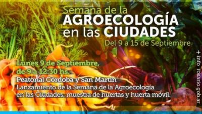 Comienza la Semana de la Agroecología en las Ciudades