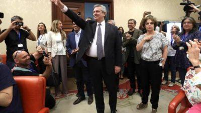 Alberto Fernández celebró las coincidencias con el presidente del Gobierno español