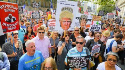 Desobediencia civil contra el Brexit duro