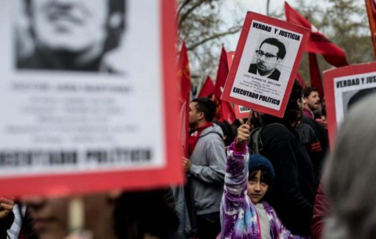 Homenaje a las víctimas, a 46 años del golpe de Pinochet