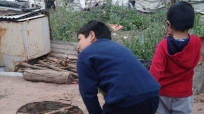Una humilde mujer abrió un merendero destinado a niños de muy bajos recursos en Rosario de la Frontera