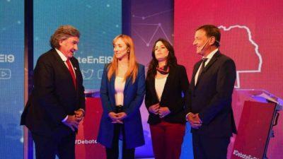 El último debate le puso el cierre a la campaña electoral en Mendoza
