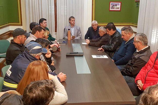 Gualeguaychú: Municipio y Sindicato se reunieron por la segunda paritaria del año
