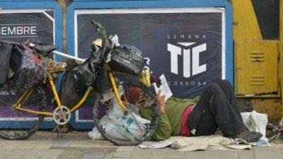 Macri dejaría el Gobierno con un piso de 40 por ciento de pobreza