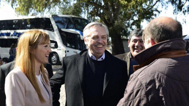 Alberto Fernández va a Mendoza con la bandera del federalismo