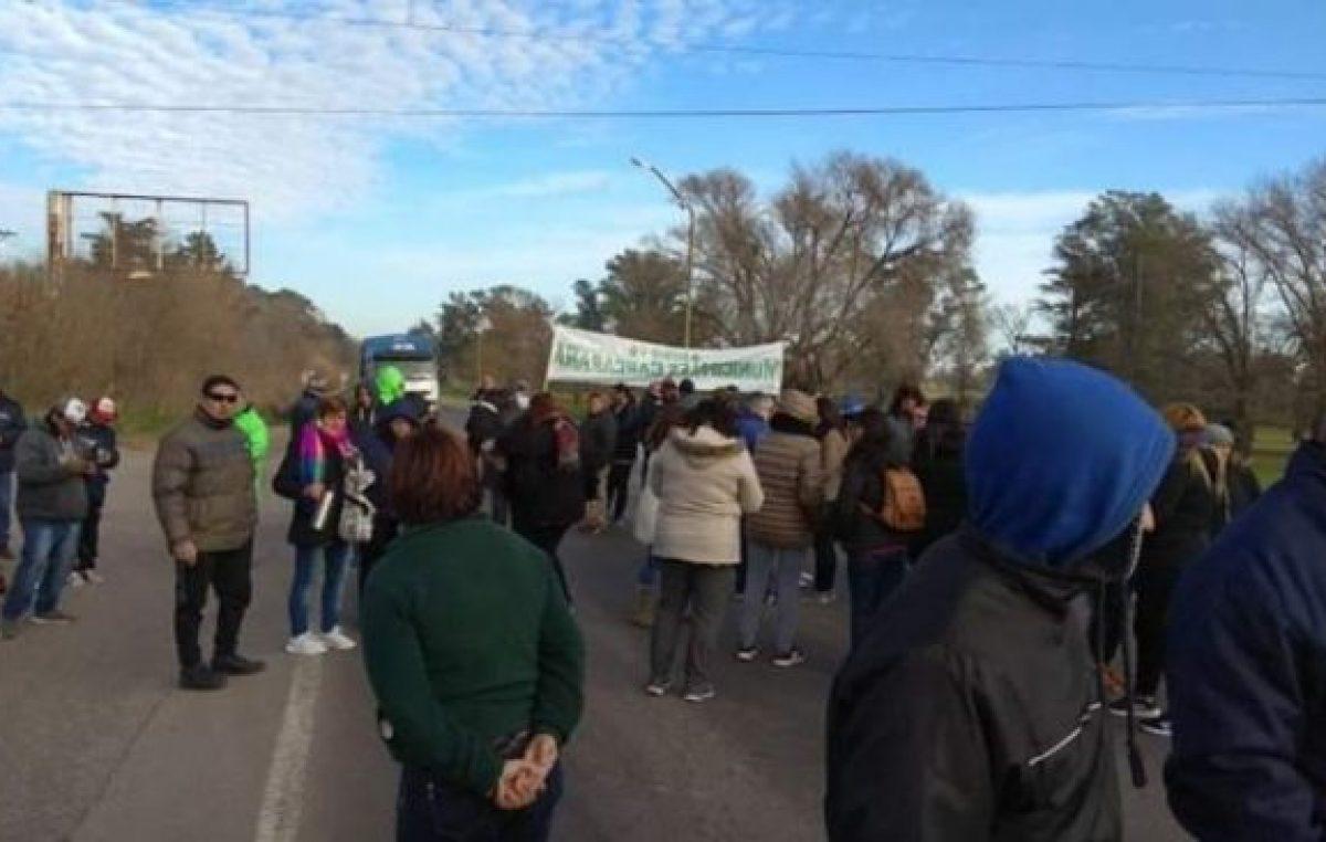 Municipales de Carcarañá comienzan la semana con paro de actividades