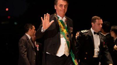 Bolsonaro amenazó con sancionar a la Argentina si gana Alberto Fernández