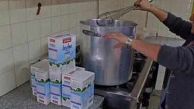 Denuncian falta de leche en varias escuelas de la ciudad de Neuquén