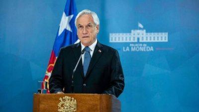 Chile: Piñera levantó el estado de emergencia, pero se hunde en los sondeos