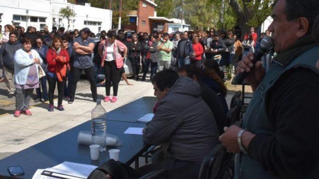 Los municipales de Caleta Olivia inician un paro por incumplimiento de un acuerdo