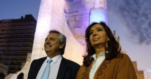 El PJ festeja con Alberto y Cristina el Día de la Lealtad