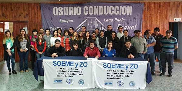 Esquel: Osorio quiere la carrera administrativa