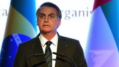 Bolsonaro, enojado con el triunfo de Alberto Fernández