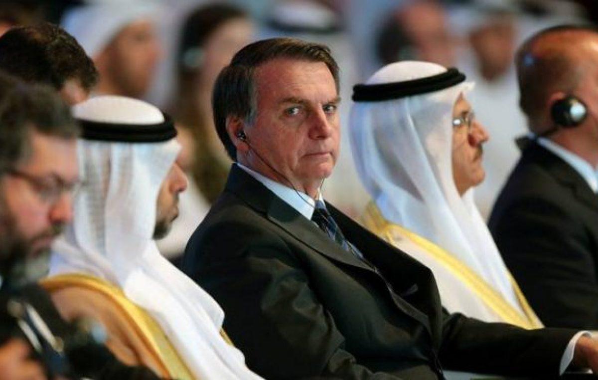 Bolsonaro sigue enojado con el triunfo de Alberto Fernández