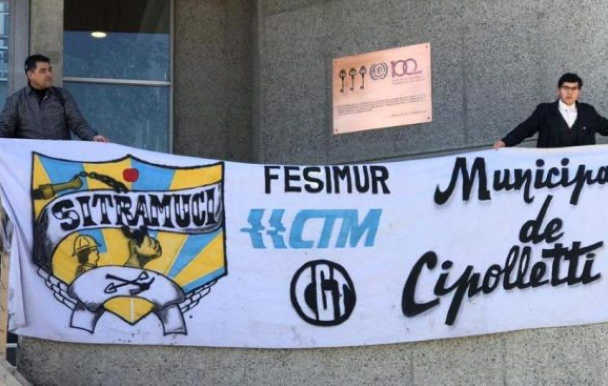 Cipolletti: Denuncian a Tortoriello en la Organización Internacional del Trabajo