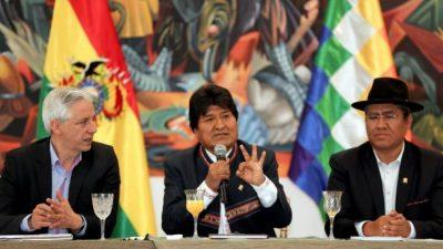 Elecciones en Bolivia: Evo Morales ofrece a la OEA que verifique una por una las actas de votación