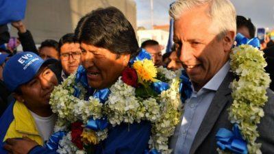 """Evo Morales: """"Los nacionalizadores vamos a seguir ganando elecciones"""""""