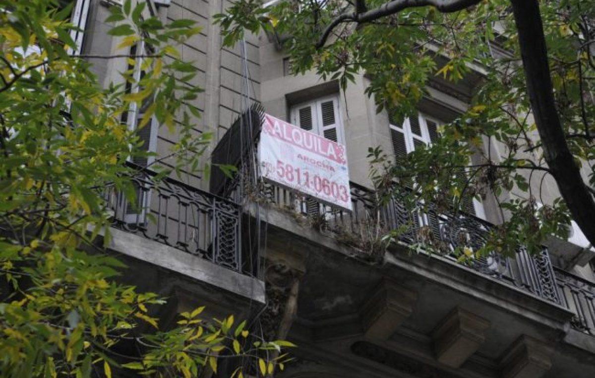 La pesada carga de alquilar en Buenos Aires
