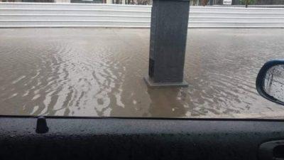 El Paseo del Bajo sí se inunda