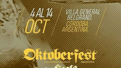 56º Oktoberfest Argentina: «Una fiesta que rejuvenece»