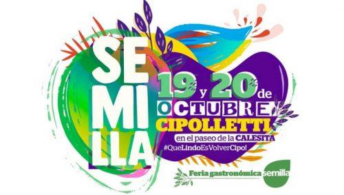 Vuelve la feria gastronómica Semilla a Cipolletti, el 19 y 20 de este mes
