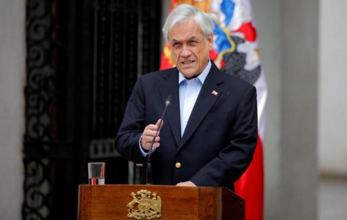 Crisis en Chile: Piñera descartó renunciar