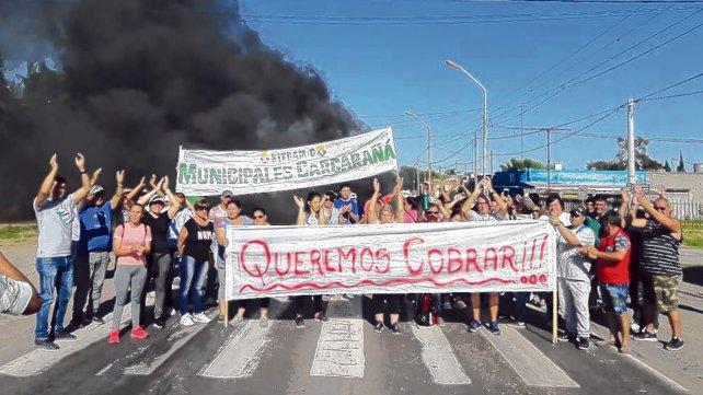 Se profundiza el conflicto municipal en Carcarañá por salarios atrasados