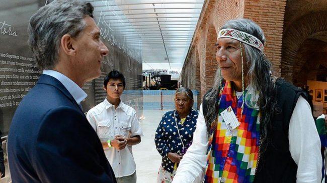 Sueldo originario: Macri le dio un cargo a Félix Díaz por el que cobrará 95 mil pesos
