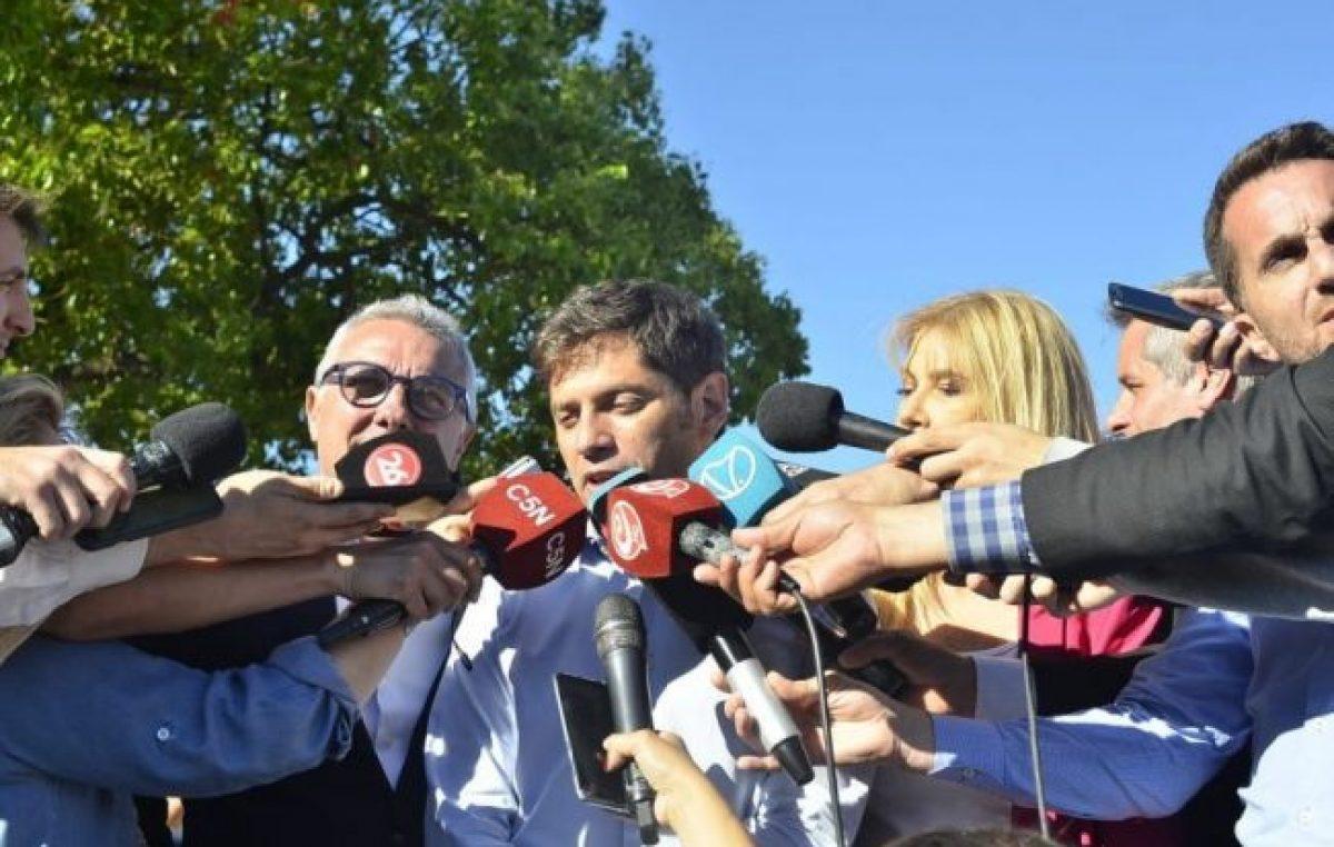 Kicillof explicó el planteo que le hizo a Vidal sobre las tarifas de luz