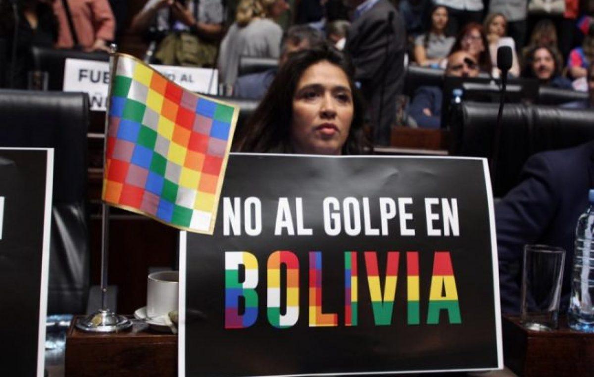 El PRO impidió que la Legislatura porteña repudiara el golpe en Bolivia