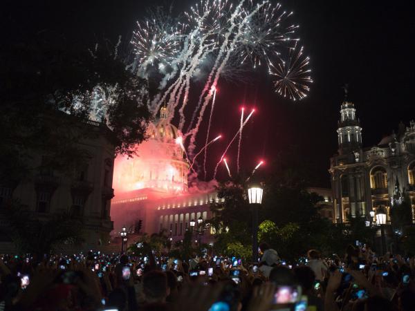 Coloridos festejos de los 500 años de La Habana