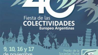40 años de la Fiesta de las Colectividades en Bariloche