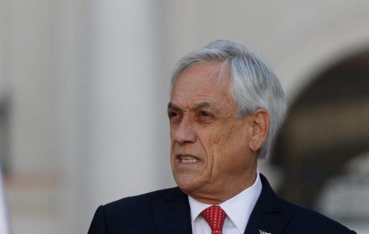 Solo el 13 por ciento de los chilenos aprueba la gestión de Piñera