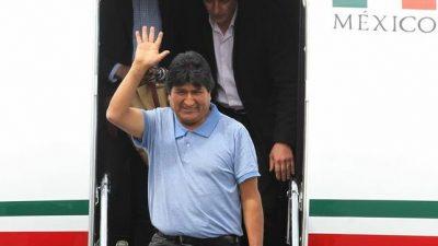 Evo Morales: «No daremos ni un paso atrás ante los racistas y golpistas»