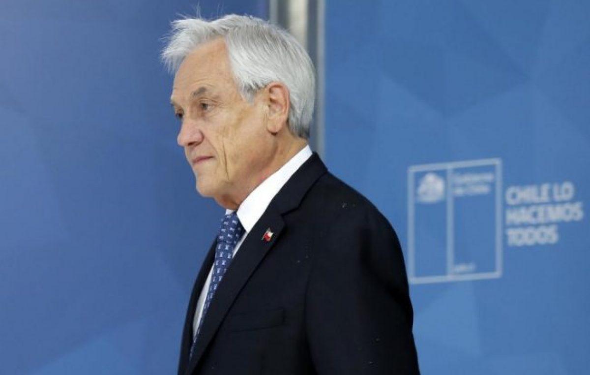 Piñera convoca a un nuevo pacto social