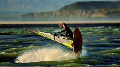 Cuesta del Viento: la meca sanjuanina del windsurf