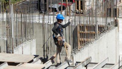 Cae el empleo en la construcción a su menor nivel desde 2017